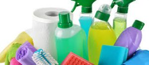 maid cleaning supplies